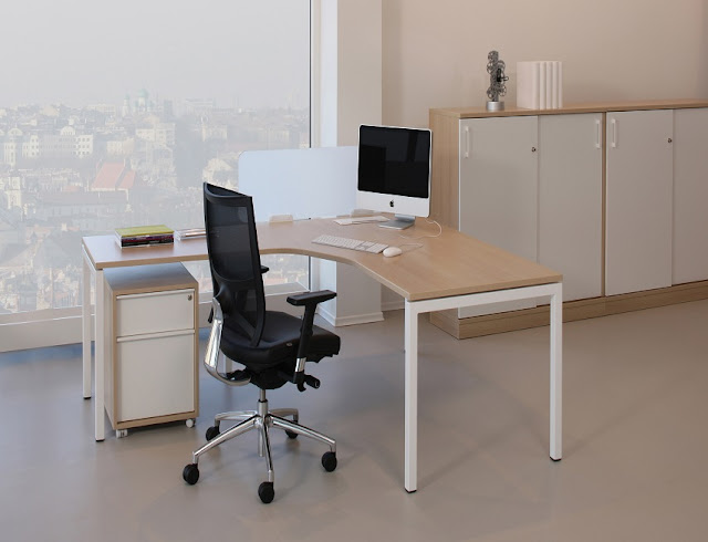 best buying modern white oak office furniture for sale