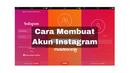 Cara Mendaftar Atau Membuat Akun Instagram Di HP