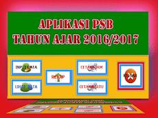 Download Aplikasi PSB Tahun Ajar 2016/2017 Gratis untuk SD/MI,SMP/MTs,SMA/MA