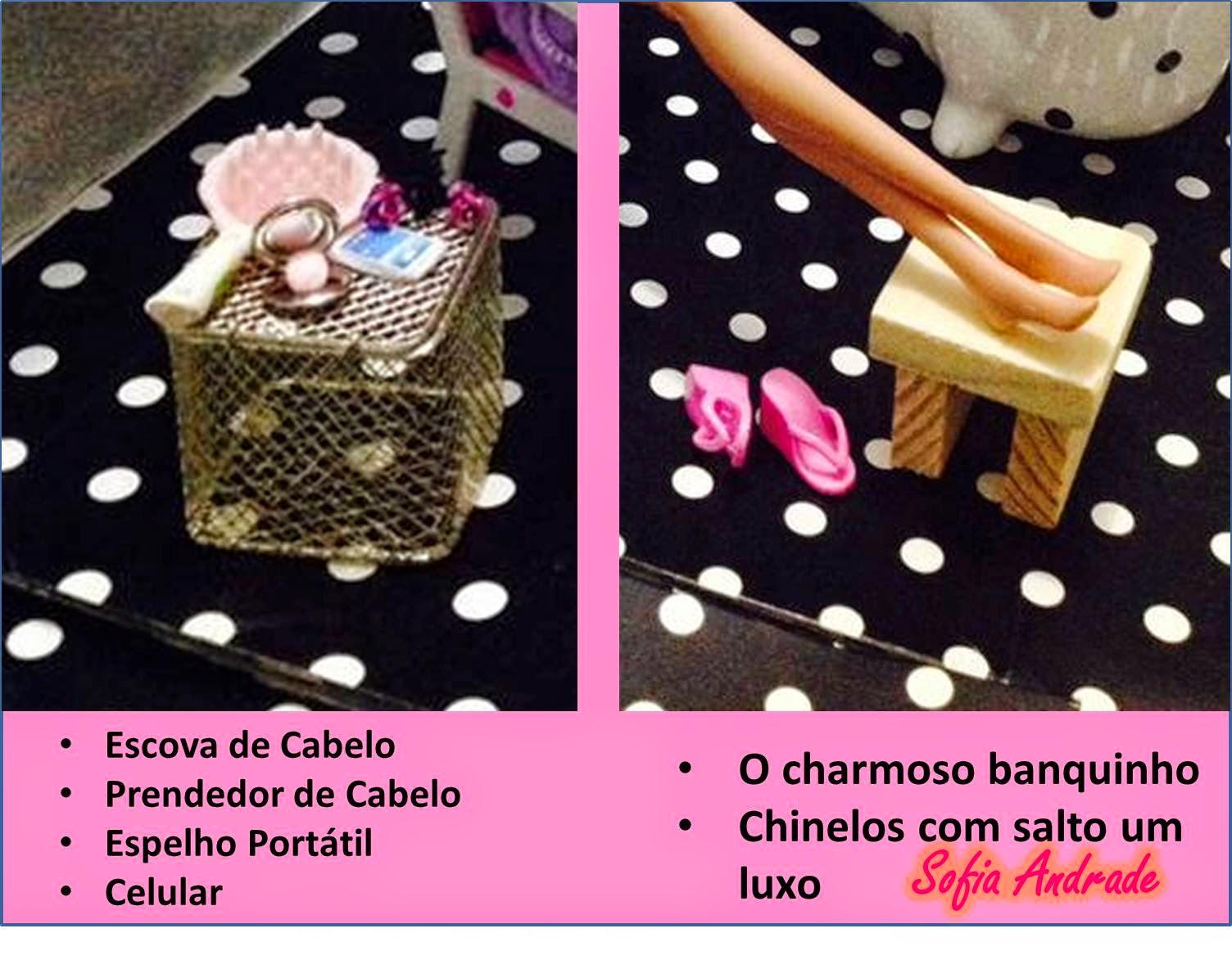 partiu diretamente da Sofia e sim da Mattel que fez a Barbie Spa de  #C80370 1504x1195 Banheiro De Luxo Da Barbie