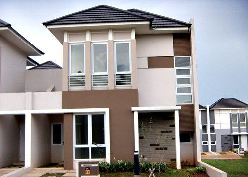 73 Model Rumah Minimalis 2 Lantai Tampak Depan Dengan Tampilan