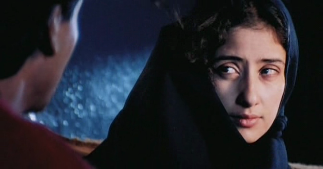 Manisha Koirala as Meghna alias Moina in Mani Ratnam's Dil Se