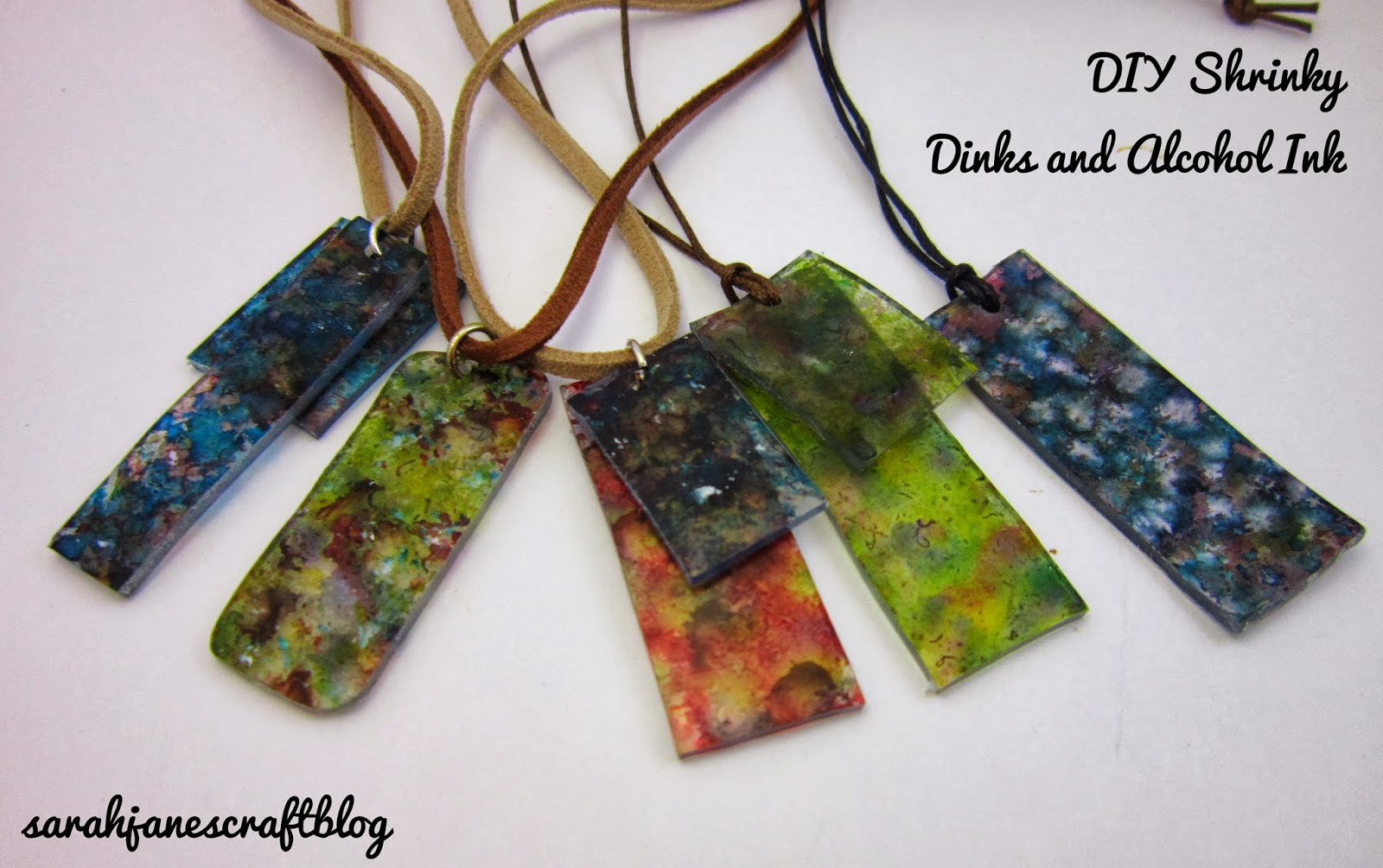 Sarah Jane S Craft Blog Diy Shrinky Dinks And Alcohol Ink