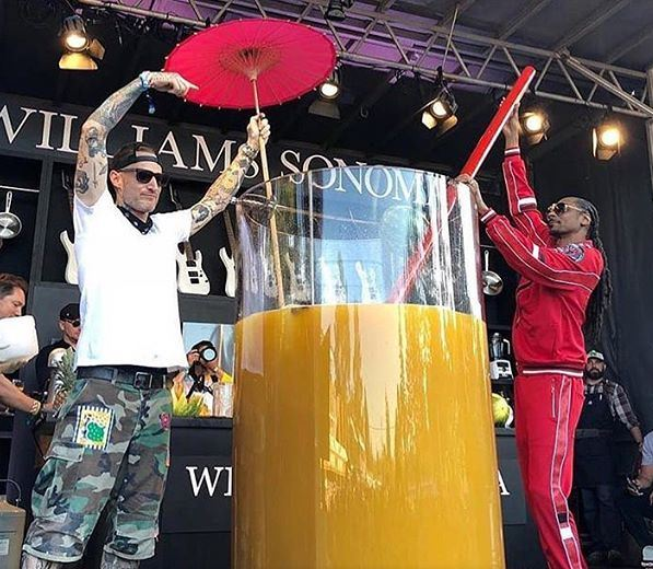 Snoop Dogg Breaks World Record With Massive Cup of Gin and Juice