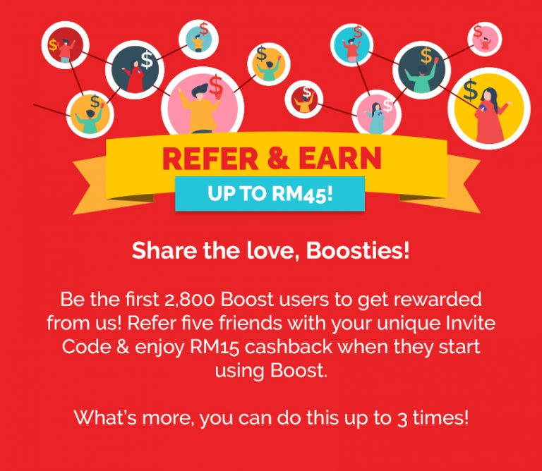Make money with Boost App