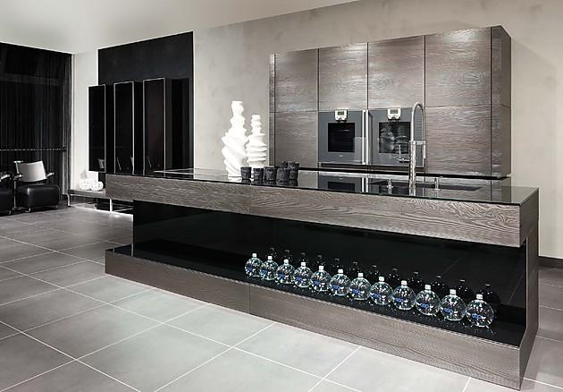 15 fotos de cocinas grises colores en casa for Pisos de madera color gris