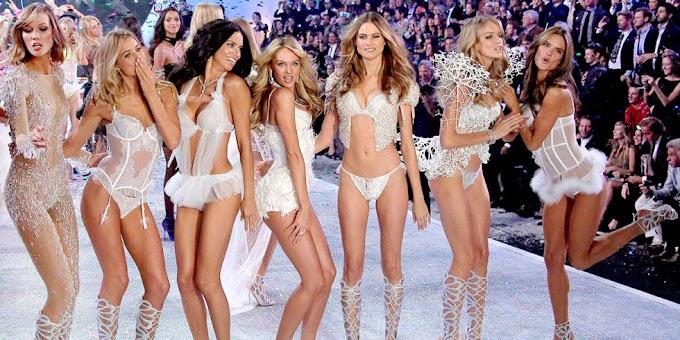 Meniru Gaya Seksi dari Victoria's Secret Angel