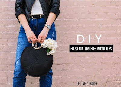 Como hacer un bolso con dos manteles individuales