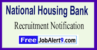 National Housing Bank Recruitment Notification 2017 Last Date 02-06-2017