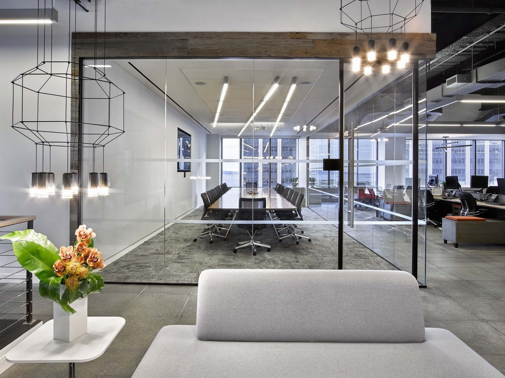 The bloc offices new york city for Office interior design nyc