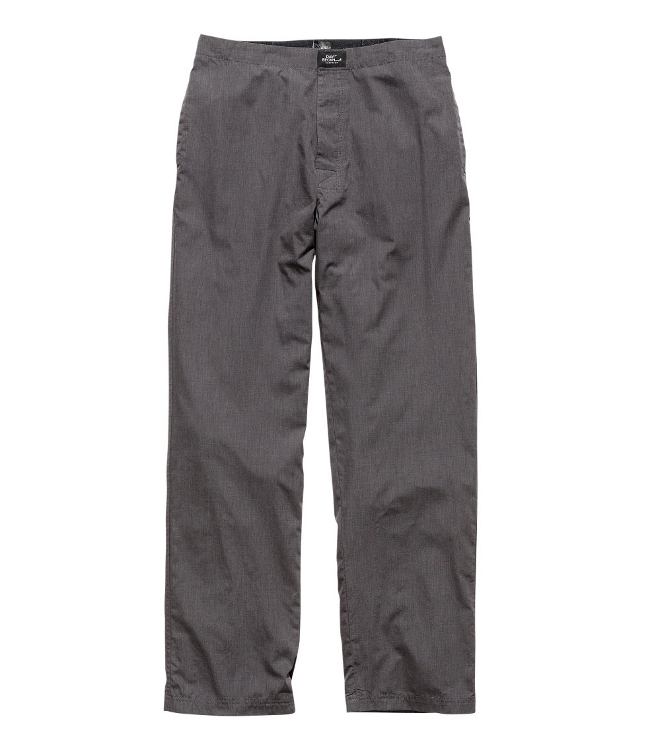 pantalon largo gris david beckham
