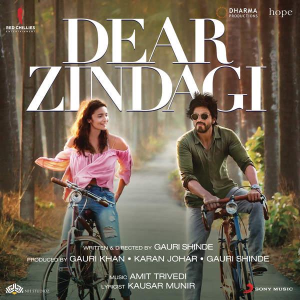 Dear Zindagi (2016) Hindi Romantic Movie Full HDRip 720p