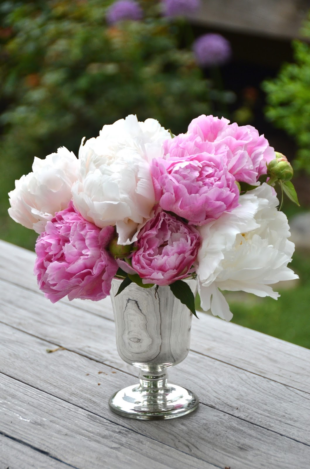 The princess and the frog blog peonies and a mercury glass vase years ago while on a community house tour i spotted a mercury glass vase with peonies in it and immediately fell hard for it as it was a decorators home reviewsmspy