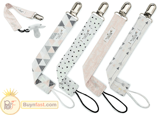 Pacifier Clip for Girls by Matimati Baby - Reliable And Very Beautiful Design