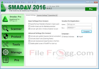 Smadav Pro 2016 Rev 10.8.2 Terbaru Full Keygen