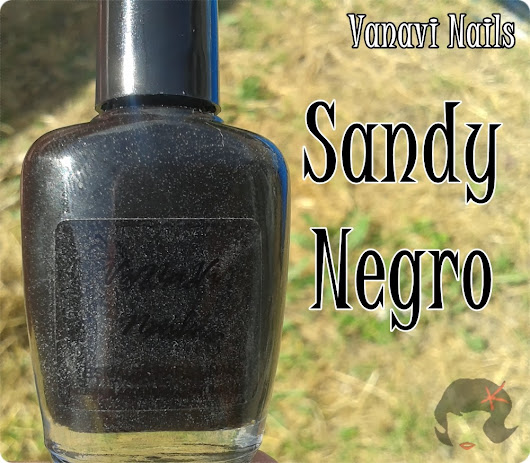 Vanavi Nails - Sandy Negro