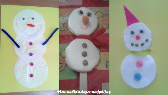 manualidades-infantiles-muñecos-de-nieve-ninos-2-anos