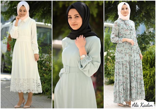 Ramazan Bayramına yakışır elbise modelleri