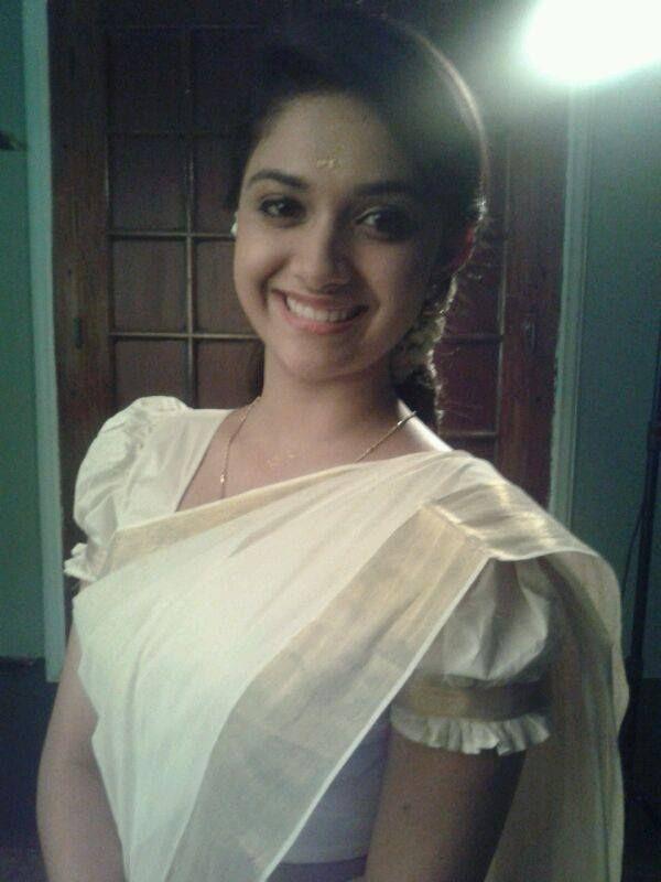 Keerthy Suresh Saree Still  Hot N Sexy Actress