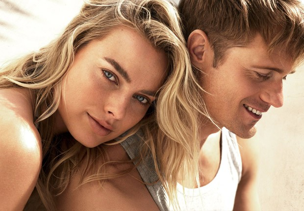 Margot Robbie & Alexander Skarsgard for American Vogue
