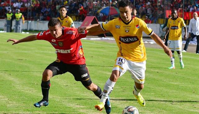 Deportivo Cuenca vs Barcelona de Ecuador en vivo
