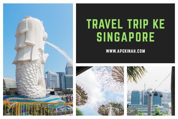 Travel Trip Ke Singapura