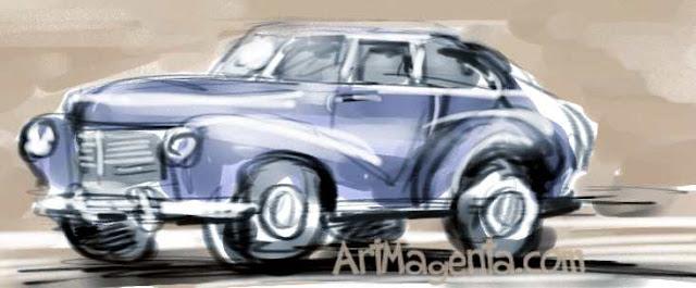 Automobile by ArtMagenta
