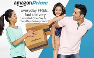 Amazon Prime Membership for FREE for 60 Days & Get Free Delivery