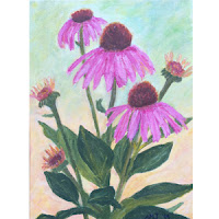http://greenmonsterbrushstrokes.blogspot.com/p/purple-cornflowers.html