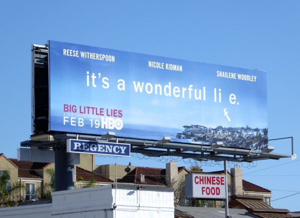 It's a wonderful lie HBO billboard