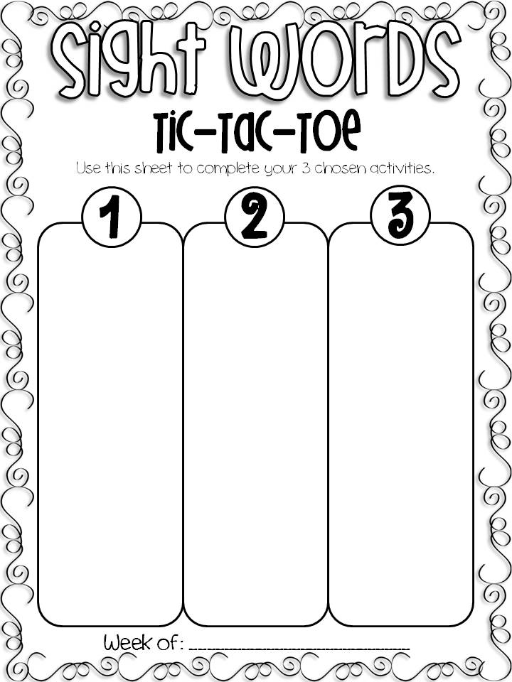 tic tac toe homework template - tic tac toe homework template gallery template design ideas