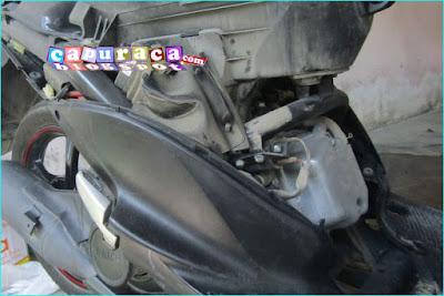 Penyebab mesin motor matic mati mendadak
