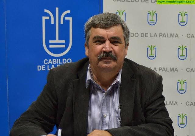 El Cabildo pavimentará el tramo final de la pista cortafuegos de La Tabladita, en Tijarafe
