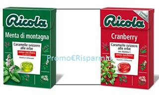 Logo Vinci gratis uno special pack di caramelle Ricola