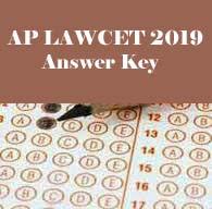 AP LAWCET 2019 Answer Key, AP LAWCET 2019 Key