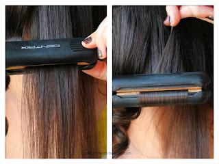 db9d62a18 شعرك ويفي/كيرلي بالسترايتنر؟ How to: Flat Iron Curls | The Artistic Hands |  Bloglovin'