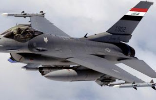 سلاح الجو العراقي يدمر معسكر لتنظيم داعش الأرهابي يخطط لأستهدف كربلاء المقدسة + صور