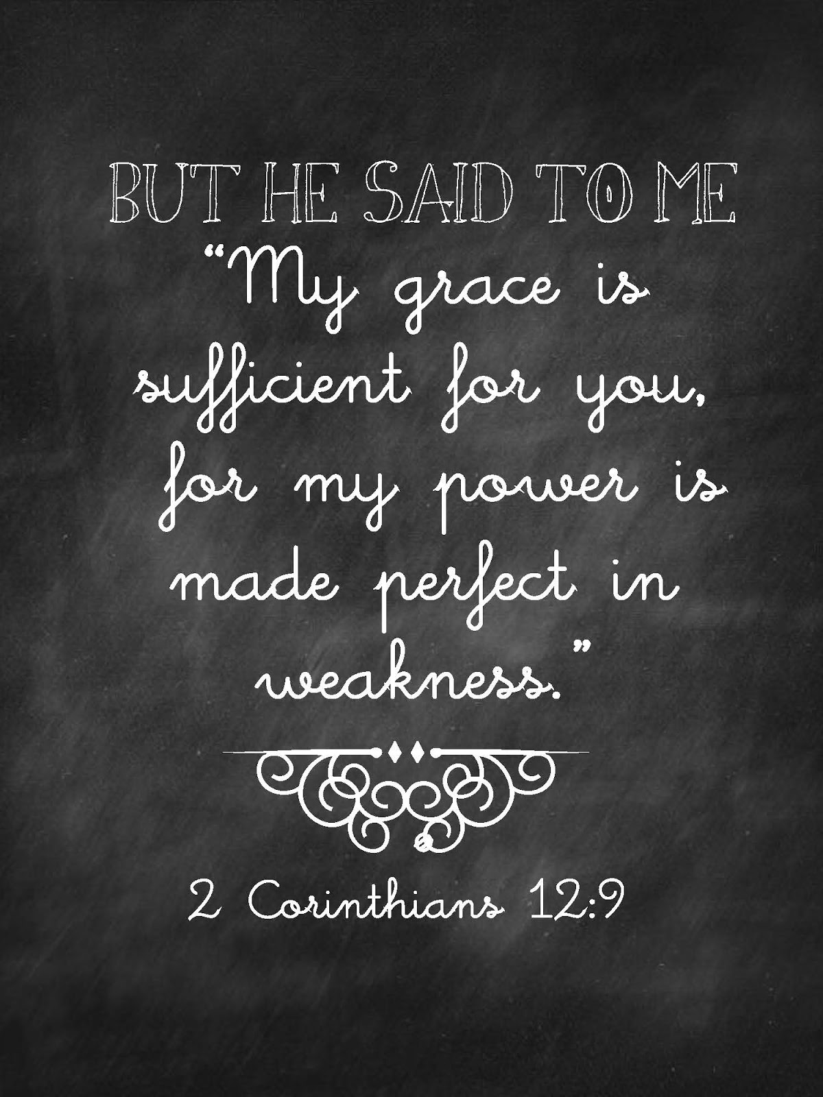 Quotes On Strength Bible: Sweet Blessings: Chalk Verses~ Set #1