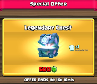 Legendary Chest Clash Royale