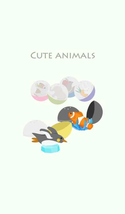 Cute animal series