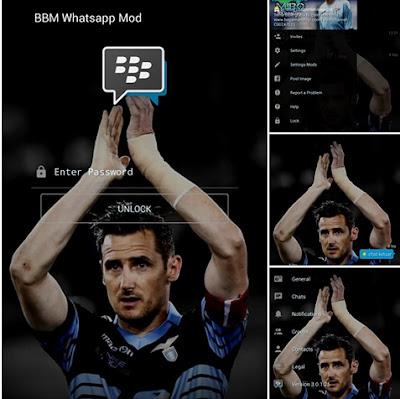 BBM Mod Whatsapp Tema Klose V3.0.1.25 Apk
