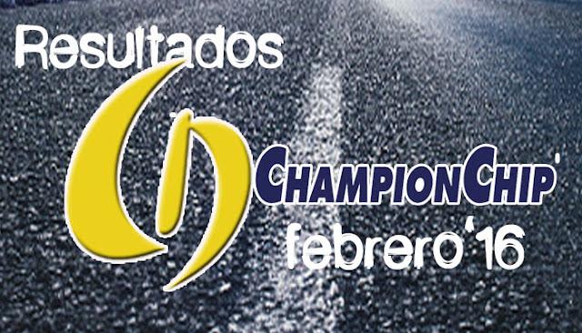 Resultados Lliga Championchip febrero 2016