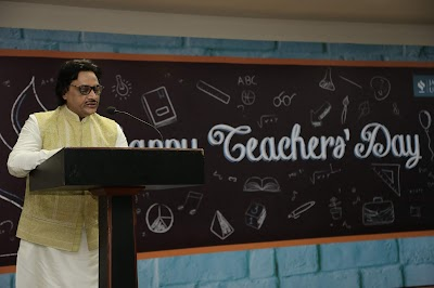 Teachers' Day Celebration at Jagran Lakecity University.