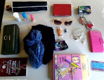 In her bag: la borsa di Loriana Lucciarini.