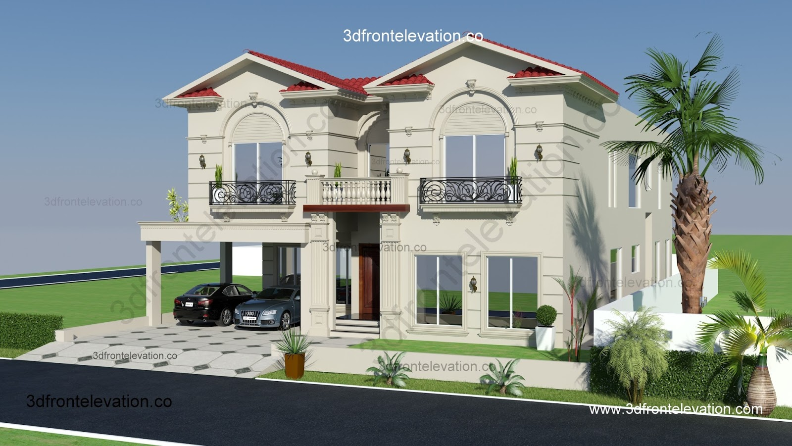 Modern mediterranean house plans