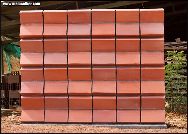 tijolo que faz isolamento termico