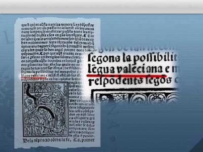 Tomarte por imbécil es que te digan que Joan Roís de Corella escribía en dialecto catalán cuando él menciona que era en lengua valenciana.