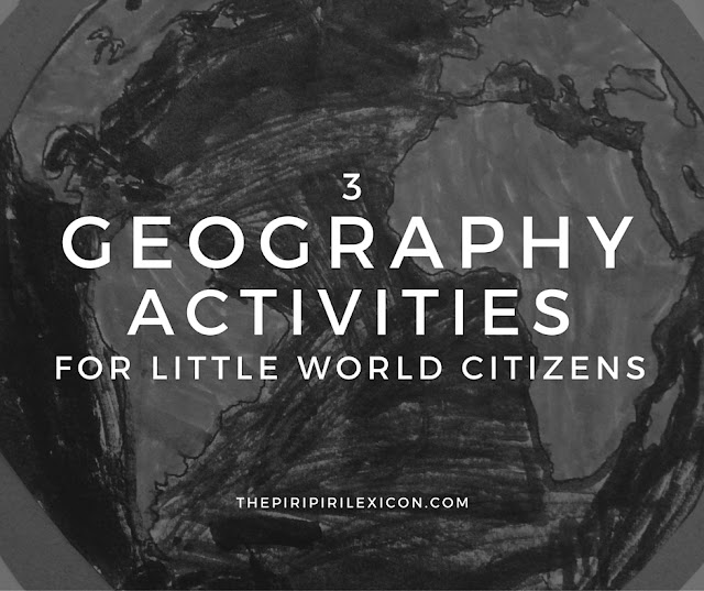 geography activities for little world citizens