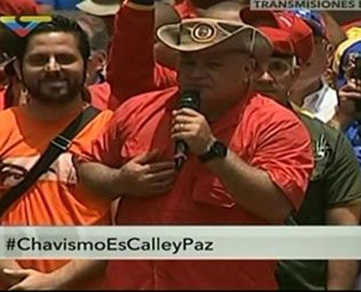 Diosdado Cabello aseguró que en la UCAB hay explosivos