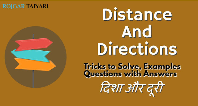 Distance and Directions problems with solutions